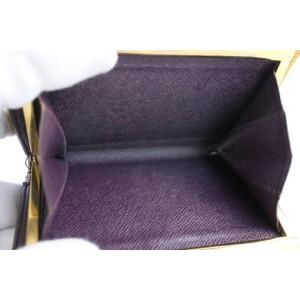 Louis Vuitton Yellow Epi Kisslock Wallet 15LR0701