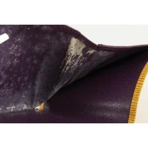 Louis Vuitton Yellow Epi Leather Elise Compact Wallet 26lvs1223