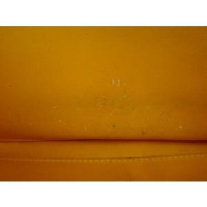 Louis Vuitton Yellow Zippy Jaune Passion Monogram Vernis 216304 Wallet