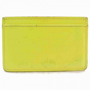 Louis Vuitton Yellow Damier Infini Porte Cartes Simple Card Case Wallet 860508