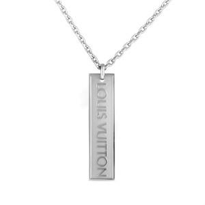 Louis Vuitton 18K White Gold Pendant Necklace