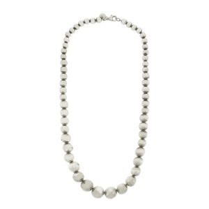 Tiffany & Co. Graduated Bead Necklace
