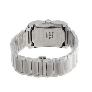 Baume & Mercier Hampton 10021 Black Dial Stainless Steel Quartz 27mm Womens Watch