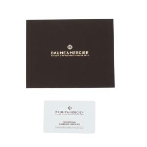 Baume & Mercier Hampton 10030 Chronograph Automatic Black Dial 34mm Mens Watch
