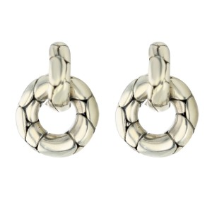 John Hardy Kali Door Knocker Earrings