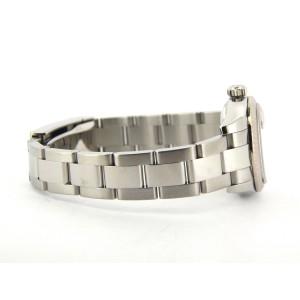 Ladies Rolex Stainless Steel Datejust Silver Diamond 179174