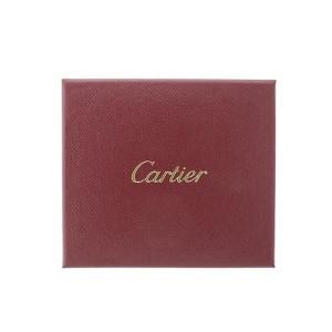 Cartier 18K Trinity One Diamond on Black Cord Bracelet