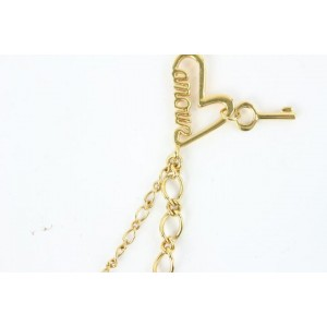 Marc by Marc Jacobs Logo Name Plate Chain Necklace 25mjz0724