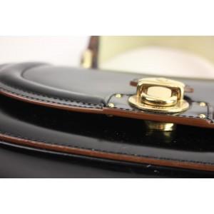 Marc Jacobs Black Patent Kelly Top Handle Satchel 62MJA104