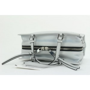 Marc Jacobs Swedish Grey Leather The Box Shopper 29 Tote Bag with Strap  15mj112