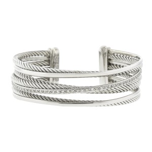 David Yurman Four Row Cuff Bracelet