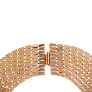Runway Multi Strand Chain Bib Necklace