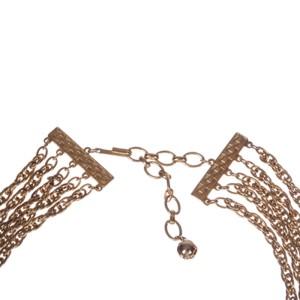 Massive Runway Disc Pendant Necklace