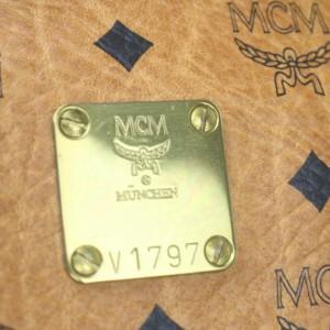 MCM Coganc Monogram Visetos Boston Duffle bag 862708