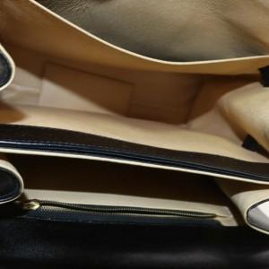 MCM Black Monogram Visetos Kelly Top Handle Flap Bag 863120