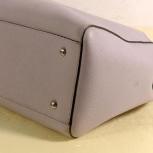 MCM Grey-pink 2way 869709 Pink Leather Tote