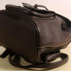 MCM Mini 869882 Black Leather Backpack