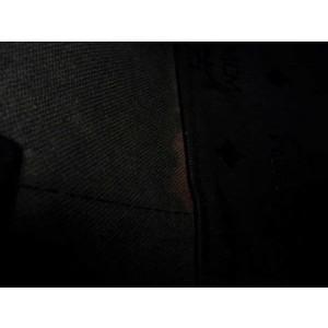 MCM Monogram Visetos Dome 233003 Black Nylon Tote