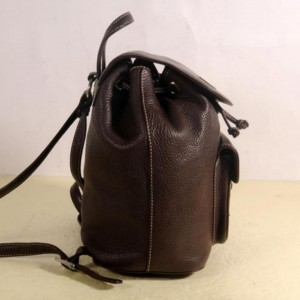 MCM Rare Chocolate 869707 Brown Leather Backpack