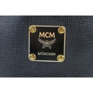 MCM Bucket Studded 14mce0108 Black Leather Tote