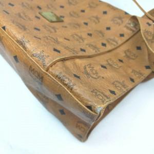 MCM Coganc Monogram Visetos Shopper Tote Bag 863068