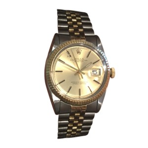 Rolex Datejust 14K Gold & Stainless Steel 33mm Mens Watch
