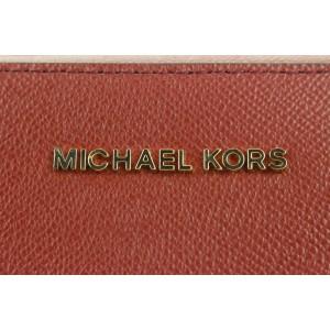 Michael Kors Red Leather Jet Set Travel Crossbody Chain Bag 26mk114