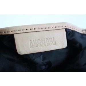 Michael Kors Embossed Pythong Jet Set 13mk0108 Black Patent Leather Tote
