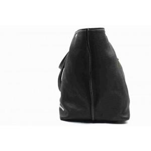 Miu Miu Black Leather Shopper Tote 860245