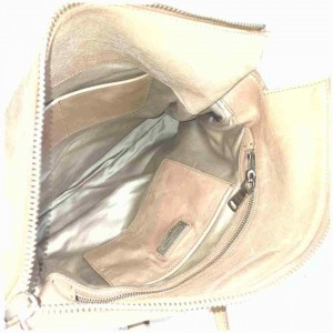 Miu Miu Large Tote 2way Shoulder Bag Pink-Beige Leather 860240
