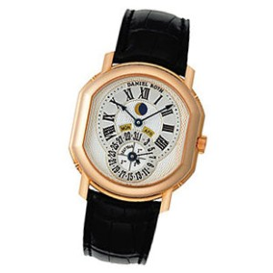 "Daniel Roth ""Moon Phase Perpetual Calendar"" 18K Rose Gold Watch"