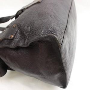 Mulberry  Dark Brown Studded Roxanne 869777