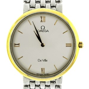 Omega De Ville Vintage Gold Plated Two Tone Ladies Watch