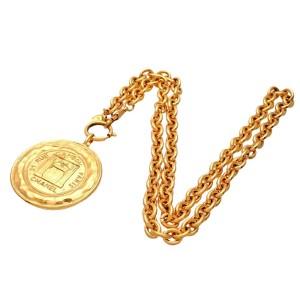 Vintage Chanel Necklace Shop Entrance Medal