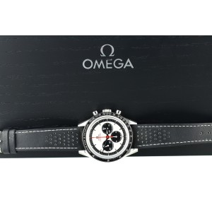 Omega 2018 Speedmaster Moonwatch Silver Dial CK2998 Limited Edition