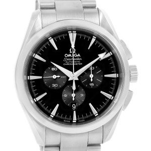Omega Aqua Terra 2512.50.00 Stainless Steel Black Dial Automatic 42.2 mm Mens Watch
