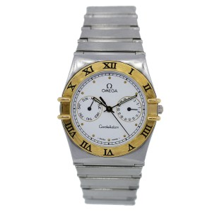 Omega Constellation Chronograph 34mm Two-Tone Watch