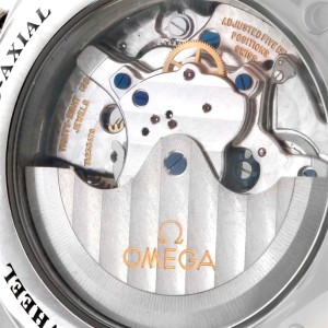 Omega DeVille 4847.50.31 Stainless Steel & Leather Strap Automatic 42mm Mens Watch