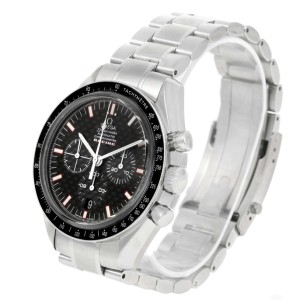 Omega Speedmaster 3552.59.00 Stainless Steel Black Dial Automatic 42mm Mens Watch