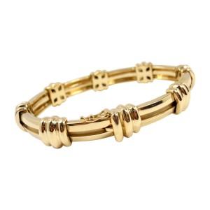 Tiffany & Co. 18K Yellow Gold Atlas Link Bracelet