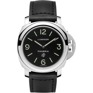 Panerai Luminor Stainless Steel with Black Dial 44mm Mens Watch