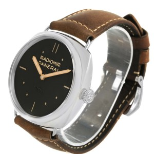 Panerai Radiomir SLC Acciaio 47mm 3 Days Power Reserve PAM00425 Stainless Steel 47mm Mens Manual Watch