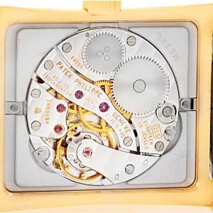 Patek Philippe Pagoda 5500J 18K Yellow Gold 26.5mm Mens Watch