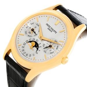 Patek Philippe Complications Perpetual Calendar 3940 18K Yellow Gold 36mm Mens Watch