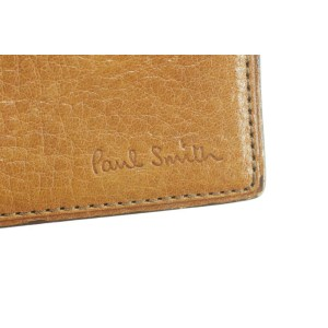 Paul Smith Card Holder Brown Leather Wallet 28SK0128