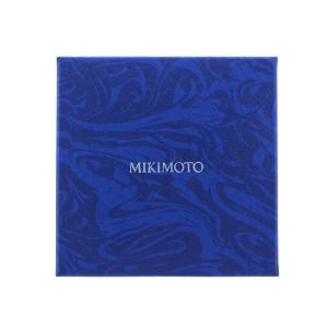Mikimoto 18K White Gold Akoya Pearl and Diamond Necklace