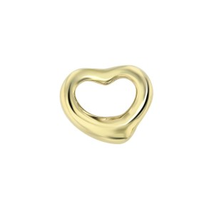 Tiffany & Co. 18k Gold Open Heart Pendant