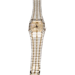 Audemars Piguet C7191 18K Yellow & White Gold Diamond Watch