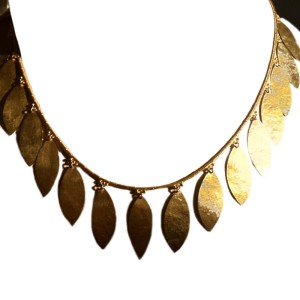 Gurhan Leaf Necklace