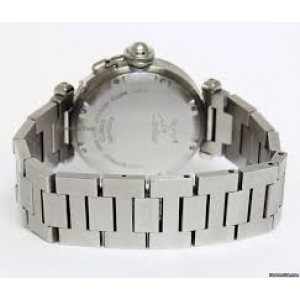 Cartier Pasha C GMT Automatic Stainless Steel Dual Time 35mm Watch